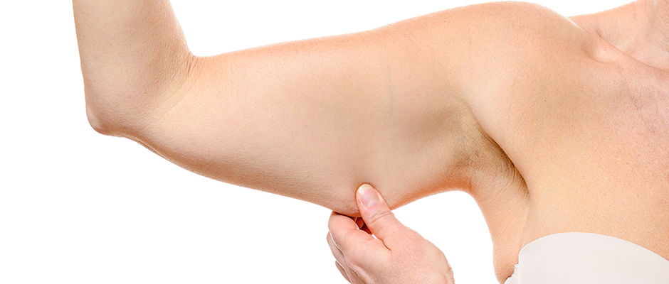How can I get rid of flabby arms?